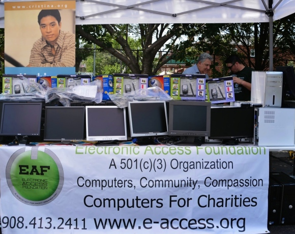 Computers Donated in Queens